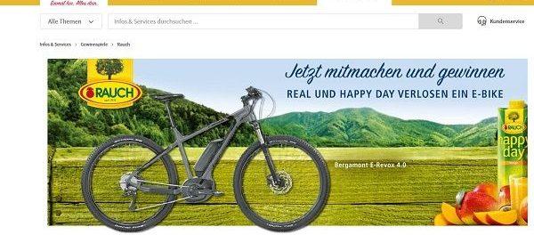 Bergamont E-Bike Gewinnspiel real und happy day