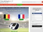COUPONS4U WM Gewinnspiel Saugroboter gewinnen