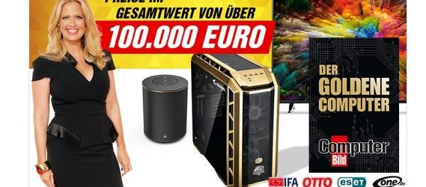 Computer Bild Gewinnspiel Der Goldene Computer 2018