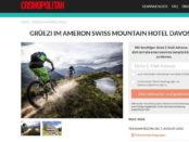 Cosmopolitan Gewinnspiel Davos Kurzurlaub