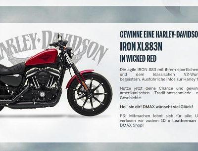 DMAX Harley Davidson Motorrad Gewinnspiel American Chopper