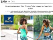 Jolie Gewinnspiel 200 Euro Tchibo Gutscheine