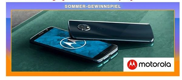 Kino News Gewinnspiele Motorola moto g6 Smartphone