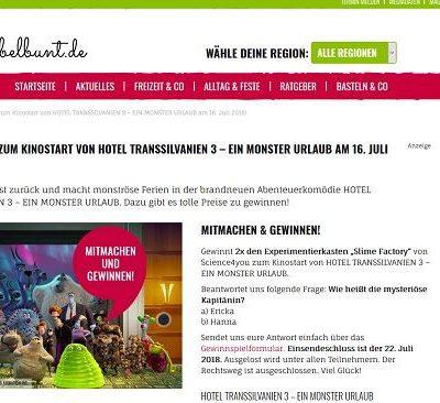 """Kribbelbunt Gewinnspiel Experimentierkasten """"Slime Factory"""""""