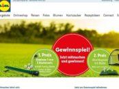 Lidl Gewinnspiel Golf Startersets gewinnen