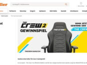 Müller Gewinnspiel The Crew 2 Schreibtischstuhl