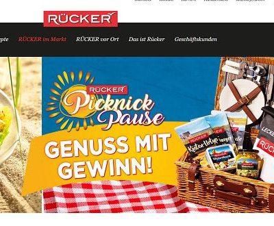 Molkerei Rücker Gewinnspiel 50 Picknickkörbe