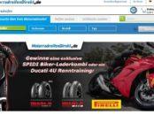 MotorradreifenDirekt.de Gewinnspiel SPIDI Lederkombi oder Renntraining