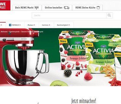 REWE Gewinnspiel Activia verlost 15 KitchenAid Artisan Küchenmaschinen