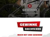 Radwelt Gera Gewinnspiel Cube Analog DFB Edition Mountainbike