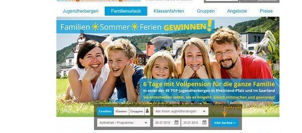 Reise Gewinnspiel Die Jugendherbergen 6 Tage Familienurlaub Vollpension