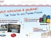 Rossmann Gewinnspiel elmex verlost Berlin Wochenendreise
