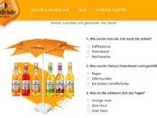 Schöfferhofer Sommer-Gewinnspiel Sonnenschirme gewinnen