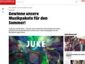 Smart Wohnen Gewinnspiel JUKE Musicflat und Kopfhörer