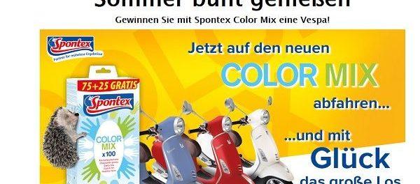 Spontex Gewinnspiel Vespa Primavera 50 4T iGet Motorroller