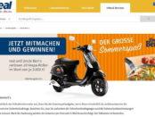 Uncle Bens Reis Gewinnspiel 10 Vespa Motorroller real