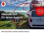 Vodafon Gewinnspiel 4 mal Wohnmobil Urlaubsgutscheine