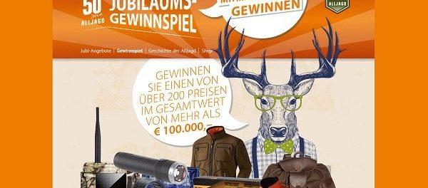 Alljagd Gewinnspiel 100.000 Euro Sachpreise Outdoor