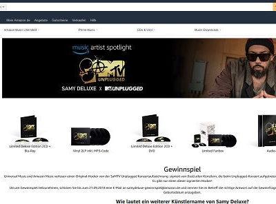Amazon Gewinnspiel 2021