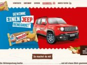 Auto Gewinnspiel hanuta Jeep Renegade