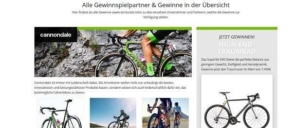 Bike Exchange Fahrrad Gewinnspiel Tour de France 2018