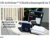 Braun Blutdruckmessgeräte Gewinnspiel Produkt-Tests