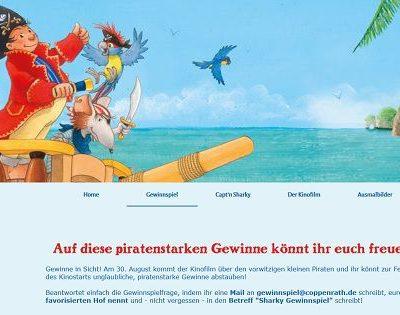 Captn Sharky Gewinnspiel Familienurlaub, Kinderfahrrad uvm.
