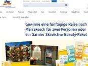 DM Gewinnspiele Garnier verlost Marrakesch Reise