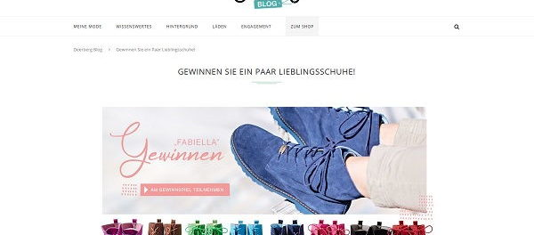 Deerberg Gewinnspiel 80 Paar Boots Fabiella