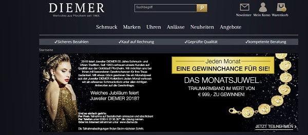 Diemer Schmuck Gewinnspiel Armband Wert 999 Euro
