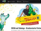 EDEKA Tabaluga Malwettbewerb Gewinnspiel Familienreise Kinopremiere