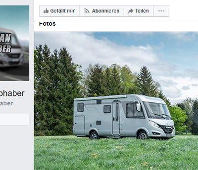 Facebook Caravan Liebhaber Gewinnspiel
