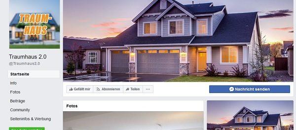Facebook Traumhaus Gewinnspiel 2.0