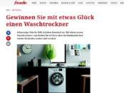 Freundin Gewinnspiele Bauknecht Waschtrockner gewinnen