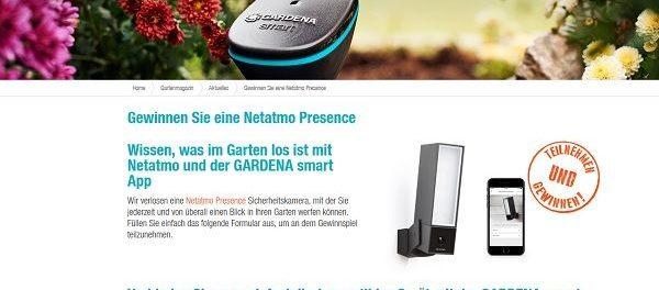 Gardena Gewinnspiel