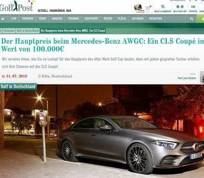 Golf Post Auto Gewinnspiel Mercedes-Benz CLS Coupe