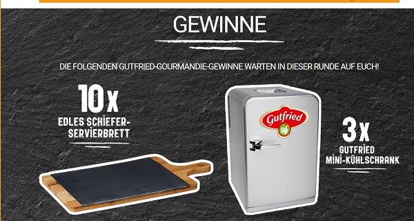 Mini Kühlschrank Mit Werbung : Gutfried gewinnspiel mini kühlschrank und servierbretter