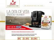 Kaffeevollautomaten Gewinnspiel Cantuccini