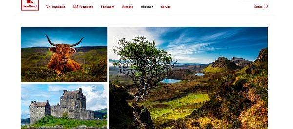 Kaufland Schottland Reise Gewinnspiel 2018