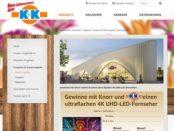 Klaas und Kock Gewinnspiel 4k UHD LED Fernseher