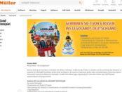Legoland Familienreisen Gewinnspiel Müller Drogerien