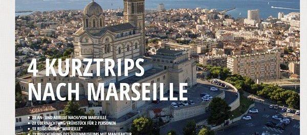 Marseille Reise Gewinnspiel Dr. Theo Kraus 4 Kurztrips