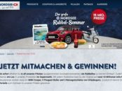 Nordsee Rubbel-Sommer Auto Gewinnspiel Mini Cooper