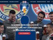 Paulaner Fanträume Gewinnspiel Fotoshooting FC Bayern Stars