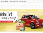 REWE Auto Gewinnspiel Fiat 500 gewinnen