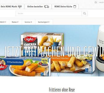 REWE und IGLO Gewinnspiel 100 Philips Heißluftfriteusen
