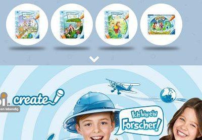 Ravensburger Gewinnspiel tiptoi Create Stifte Produkttester
