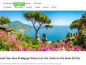 Reise Gewinnspiel Kaufland Italien Urlaub auf Ischia