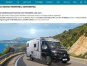 SAT1 Wohnmobil Gewinnspiel Hymer Reisemobil gewinnen