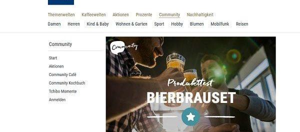 Tchibo Gewinnspiel 15 Bierbrausets Produkttester gesucht